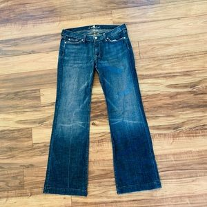7 For All Mankind Flare Jeans SIZE 32